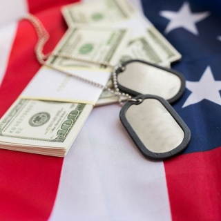 Flag-money-dog-tags