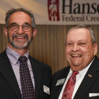 Ray Phillips and Paul Marotta at the Annual Meeting