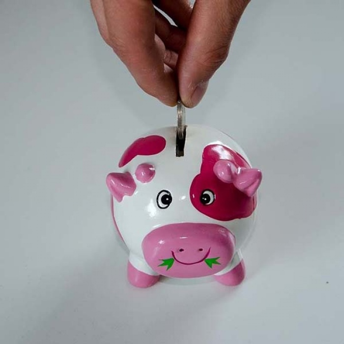 Dropping-a-coin-into-a-piggy-bank
